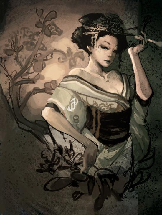 """Geisha"" by Langewong"