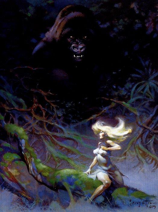 """""""King Kong"""" by Frank Frazetta"""