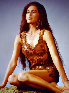 "The incredibly sexy ""Nova"" played by Linda Harrison"