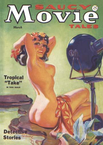 """""""Saucy Movie"""" magazine March 1936"""