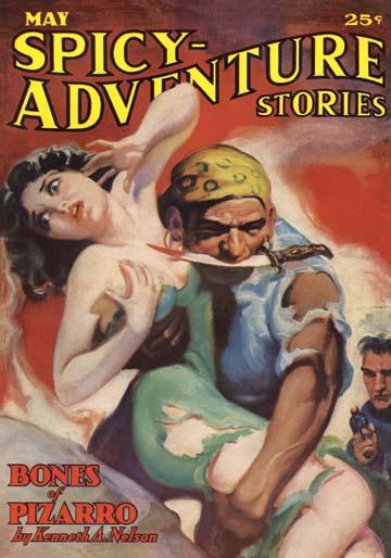 """Spicy Adventure"" magazine May 1936"