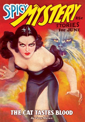 """Spicy Mystery"" magazine June 1936"